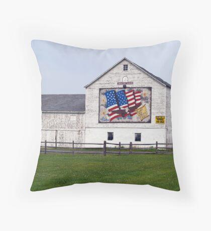 Vanishing Farm - Bethlehem Township PA Throw Pillow