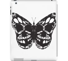 The Skulled Butterfly iPad Case/Skin