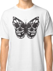 The Skulled Butterfly Classic T-Shirt