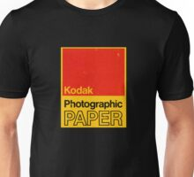 Kodak Photographic Paper Unisex T-Shirt