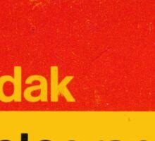 Kodak Photographic Paper Sticker