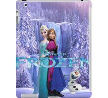 SET GIFT ELSA ANNA OLAF iPad Case/Skin