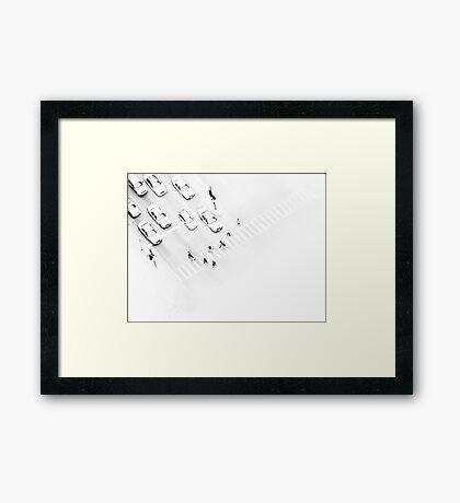The Faceless Framed Print