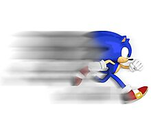 Sonic Speed Photographic Print