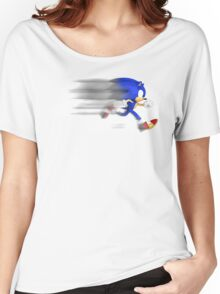 Sonic Speed Women's Relaxed Fit T-Shirt