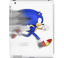 Sonic Speed iPad Case/Skin