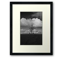 Coming in From the Fields.  Framed Print