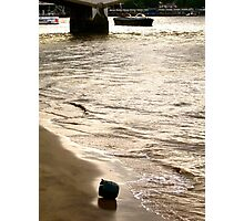 Washed up (London) Photographic Print