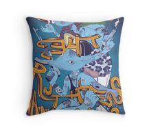 Gang of The Ruthless Animals Throw Pillow
