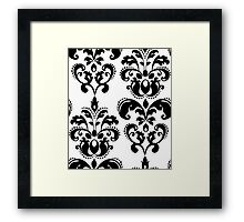 Vintage to the core. Framed Print