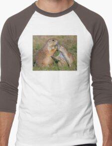Please Stop Talking Men's Baseball ¾ T-Shirt