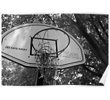 Old Hoops Poster