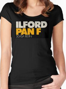 Ilford PanF Women's Fitted Scoop T-Shirt