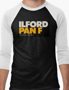 Ilford PanF Men's Baseball ¾ T-Shirt