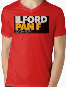 Ilford PanF Mens V-Neck T-Shirt