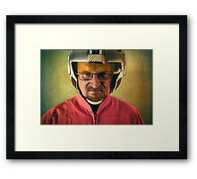 Say My Red Squadron Designation Framed Print