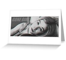 Amy from Gone Girl Greeting Card