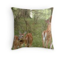 Youngsters Throw Pillow