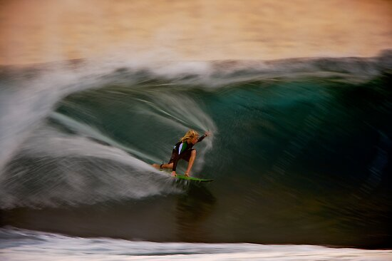Pipeline Speed Blur by David Orias
