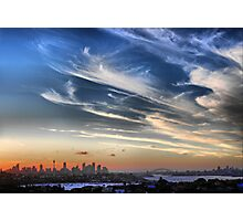 Sydney Harbour from Dover Heights Photographic Print