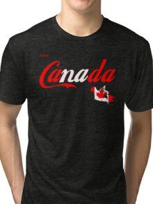 enjoy canada flag Tri-blend T-Shirt