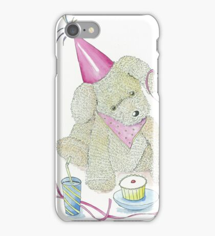Rosie Dog Party Time iPhone Case/Skin