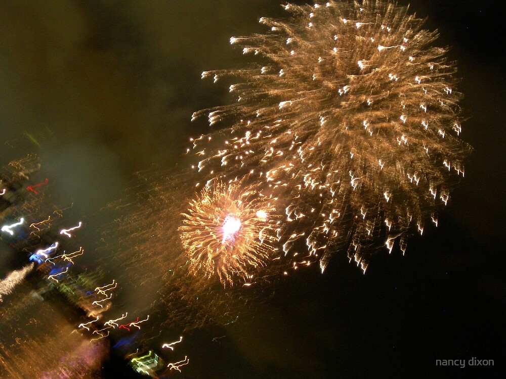 fireworks by nancy dixon