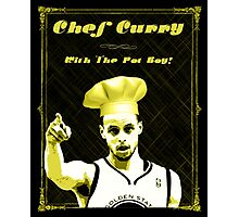 Chef Curry With The Pot Boy! Photographic Print