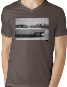 Miami Mens V-Neck T-Shirt