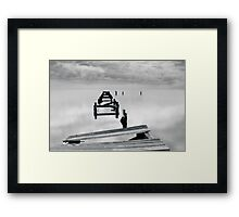 Wrecked Framed Print