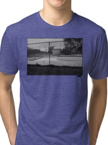 Skate pool Tri-blend T-Shirt