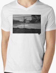 Skate pool Mens V-Neck T-Shirt