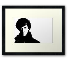 Sher to the Lock!  Framed Print