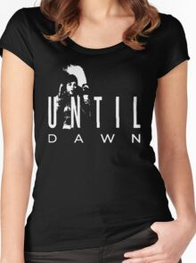 Until Dawn Advertising Women's Fitted Scoop T-Shirt