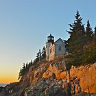 Late Sunlight, Bass Harbor Light, Acadia by Dan Hatch