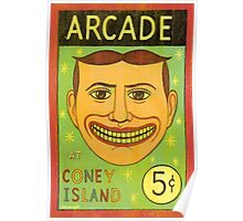 Arcade at Coney Island Poster