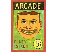 Arcade at Coney Island Photographic Print