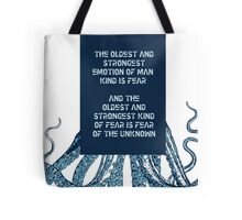 HP Lovecraft Tote Bag