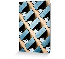 Rectangles and Reflection Greeting Card