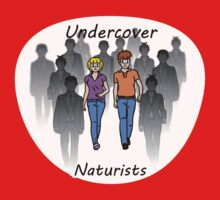 Undercover Naturists (Couple) One Piece - Long Sleeve