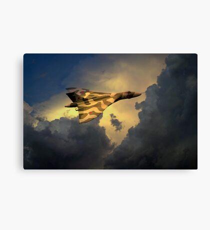 Golden Vulcan  Canvas Print