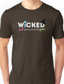 PinkGoes Good With Green Unisex T-Shirt