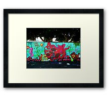 Graffiti 007 Framed Print