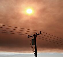 Wildfire Smoke 11-15 by Melissa  Carroll