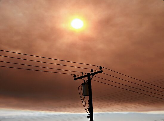 Wildfire Smoke 11-15 by Melissa  Carroll