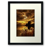 Dreamy Sunset Framed Print