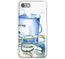 Bucket and spade and things from the beach! iPhone Case/Skin