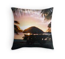 Fiji Sunset Throw Pillow