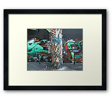 Graffiti 018 Framed Print