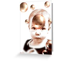 Oh My Bubbles Greeting Card